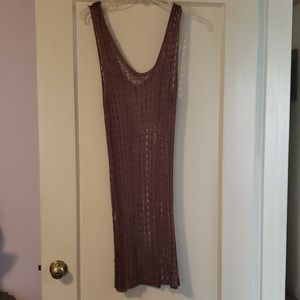 NWT Forever 21 brown bathing suit cover up